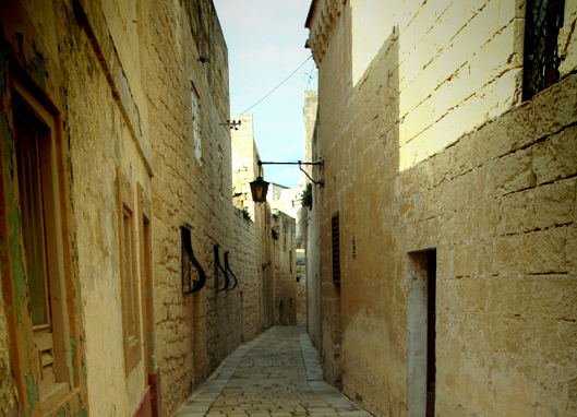 몰타의 고요한 작은 마을, 엠디나(Mdina)!