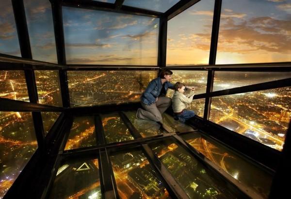 호주 멜번의 아찔한 전망대, 유레카 타워!