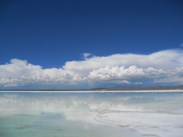 하늘을 비추는 거울, 볼리비아 우유니 소금사막!