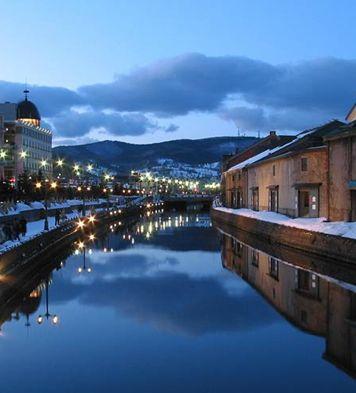 오타루의 겨울, 찬란한 눈빛거리축제!