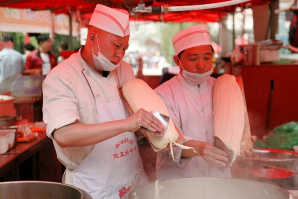 중국 산서성 국수, 도삭면!