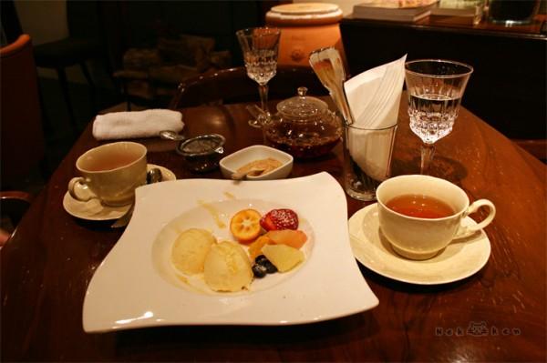 도쿄 긴자의 허브티 카페!