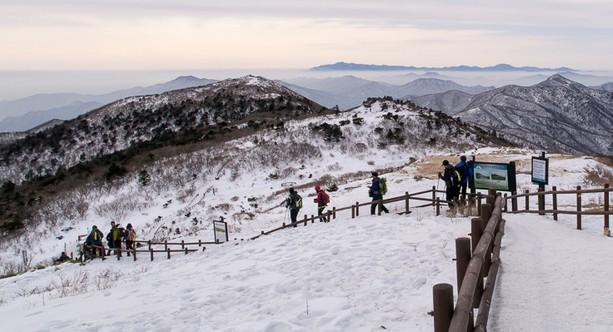 덕유산, 대한민국의 설경을 만나다