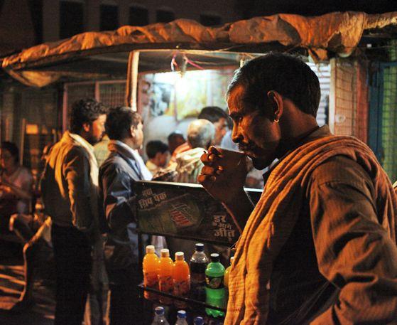 인도의 거리에서 만난 음식!