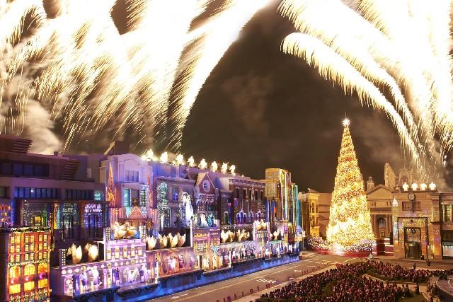 첫눈처럼 설레는 오사카 USJ의 크리스마스 축제!