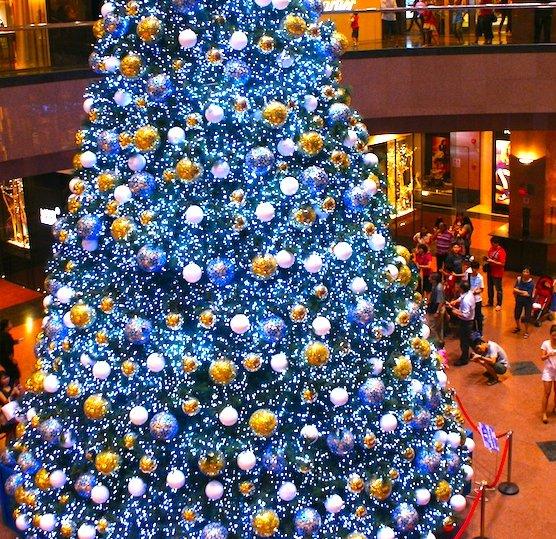 싱가포르, 12월 한여름의 크리스마스!
