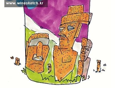 남미 특유의 강렬함과 투박함을 간직한 칠레 와인