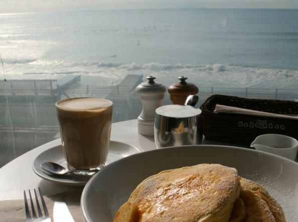 에노시마 해변의 카페, 빌즈의 팬케익!