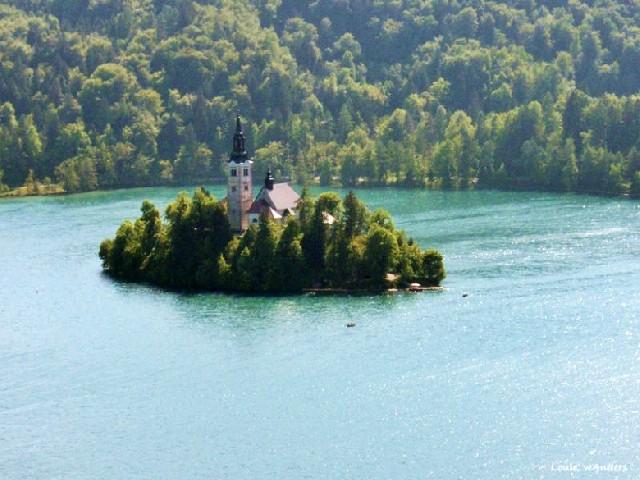 슬로베니아에서 만난 동화 속 풍경, 블레드 호수