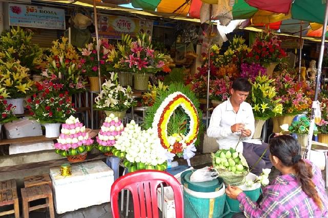 프놈펜 시장구경! 러시안마켓vs센트럴마켓