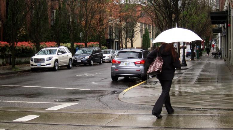 비오는 날의 포틀랜드