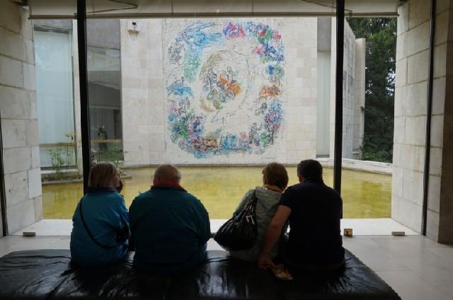 생의 마지막 순간의 작품이 이곳에, 니스 샤갈 미술관
