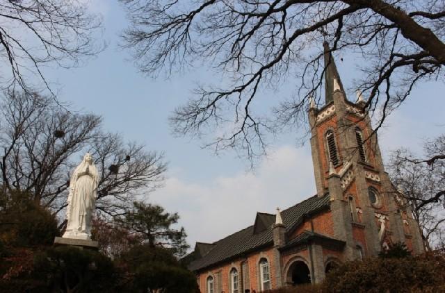 가장 아름다운 성당, 충남 아산 공세리성당