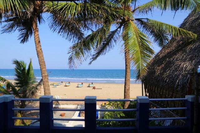 남인도 폰디체리 옆 예쁜 바닷가 마을, Serenity Beach