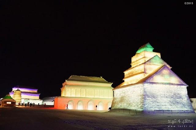 세계 3대 겨울축제, 하얼빈 빙등제를 한국에서 만나다