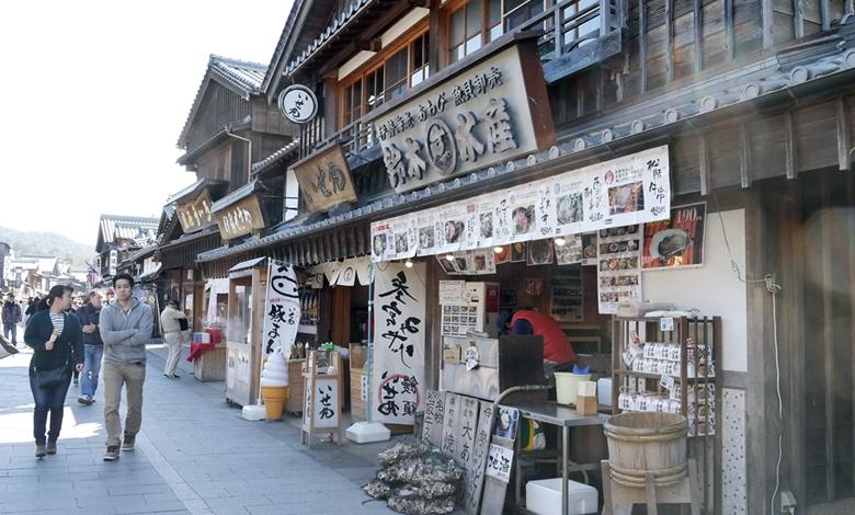 눈과 입이 즐거워지는 곳, 일본 이세시마 오카게 요코초(おかげ横丁)