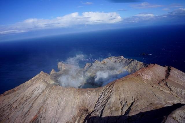 뉴질랜드의 볼케이노, 화이트 섬