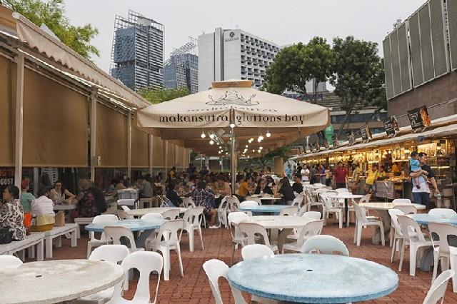 싱가포르 대표 호커센터와 식당