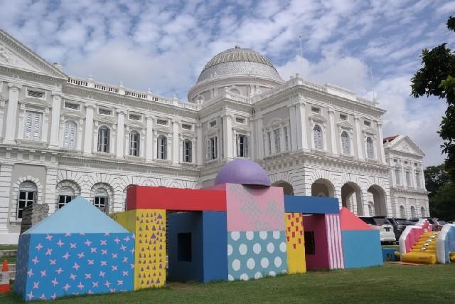매년 여름 싱가포르 박물관은 어린이들의 놀이터가 된다!
