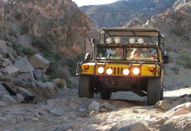 Hummer 타고 캘리포니아 오프로드 사막여행