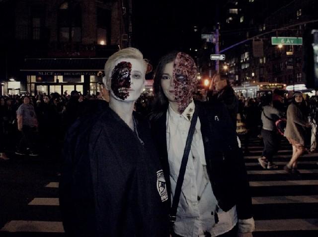 미국 뉴욕의 10월 마지막 날을 화려하게 장식한 할로윈 퍼레이드