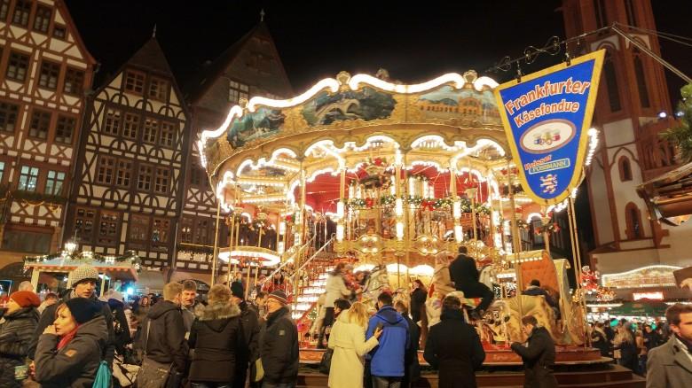 맛있는 냄새 솔솔~ 독일 크리스마스 마켓