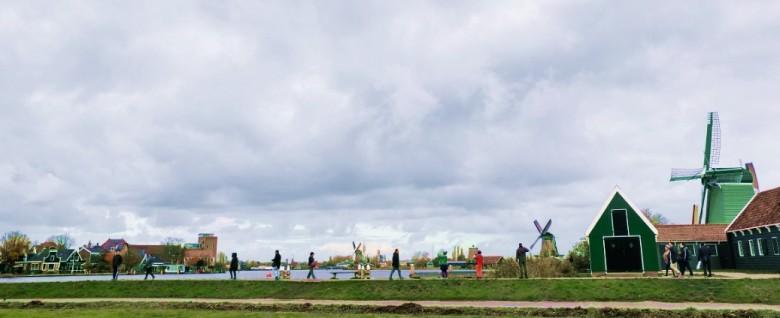 동화 같은 풍차마을, 네덜란드 잔세스칸스