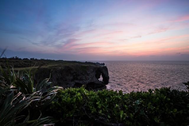 오키나와 감성 사진 포인트! 잔파곶 VS 만좌모