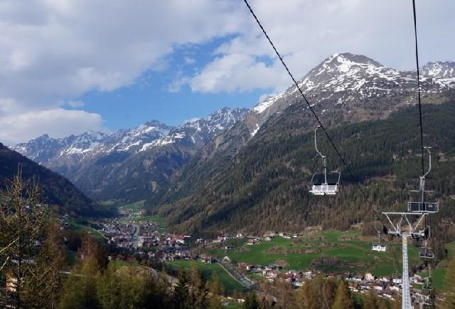 알프스 정상에서 인생의 첫 번째 스키를 탄 이유