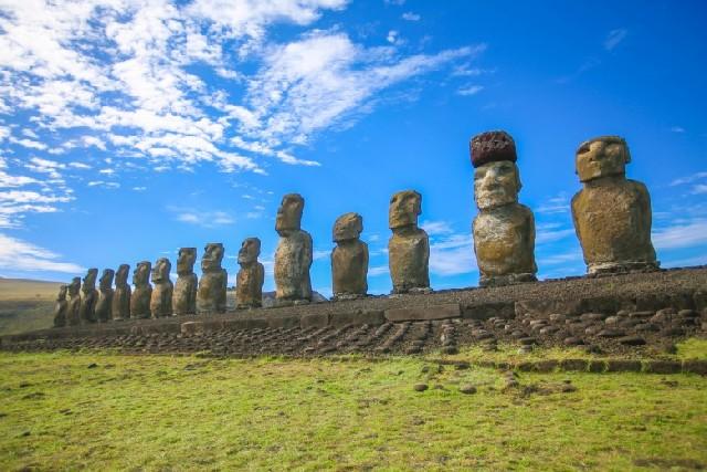 모아이들의 천국, 칠레 이스터섬을 찾아서