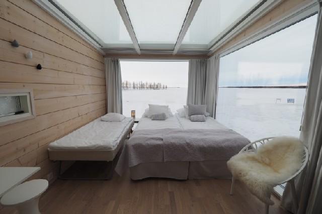 눈과 얼음의 나라, 핀란드 케미에서 머무는 방법
