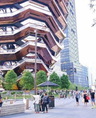 맨해튼의 새로운 랜드마크, 허드슨 야드의 '베슬 Vessel'