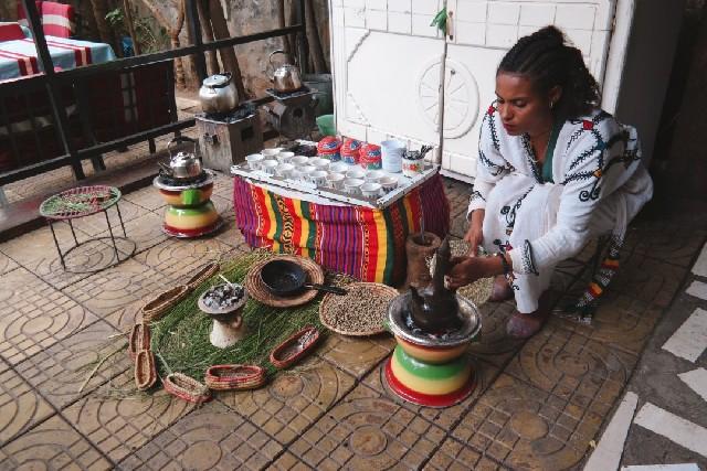 커피를 대하는 신성한 의식, 에티오피아의 분나 마프라트