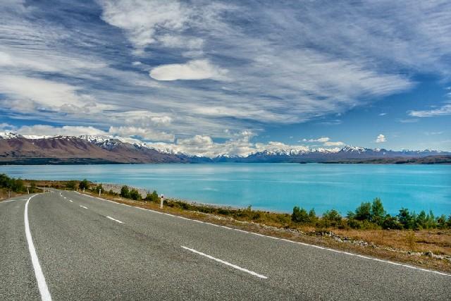 호반 드라이브의 백미, 뉴질랜드 테카포 호수와 푸카키 호수