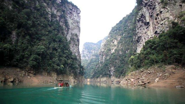 중국 금수 관광지 영상