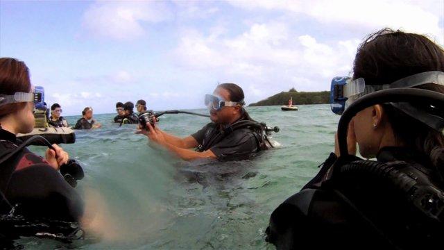 괌 스쿠버 다이빙