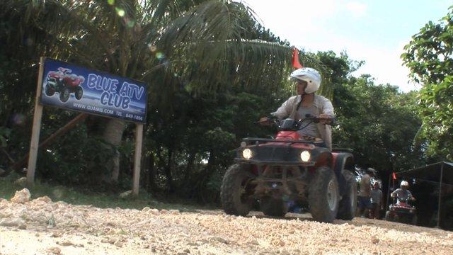 괌 정글오프로드 ATV