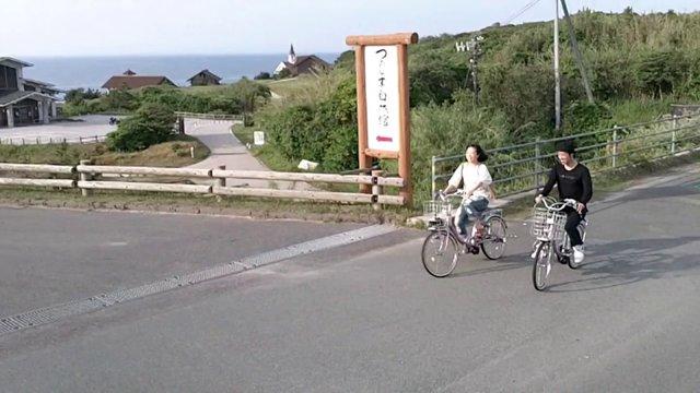쓰노시마 전동자전거