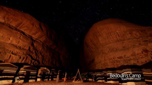 베드윈 캠프와 지프투어, 와디럼 사막