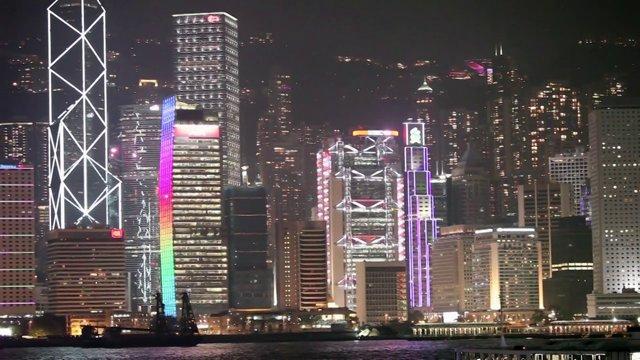 홍콩섬 야경6