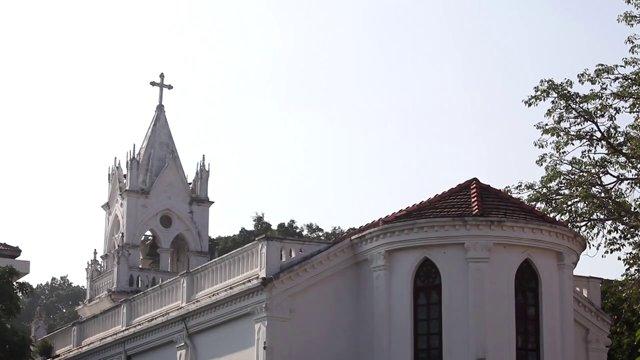고랑서,교회,십자가