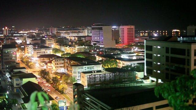 코타키나발루 시내
