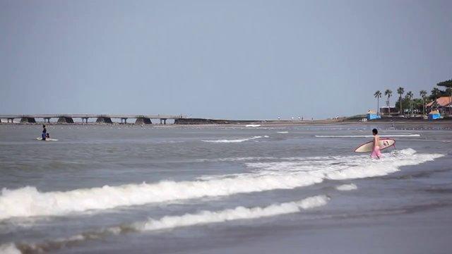미야자키, 해변, 서핑