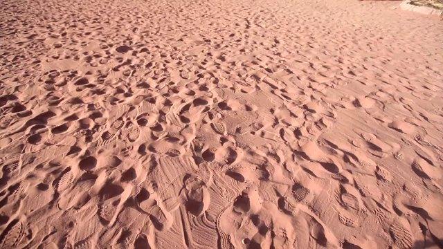 베두인캠프, 와디럼사막