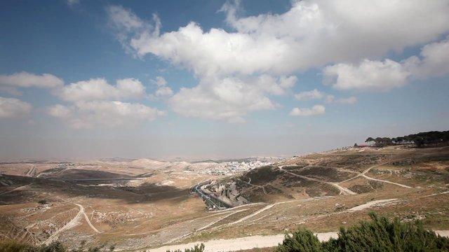 이스라엘, 예루살렘, 유대광야1