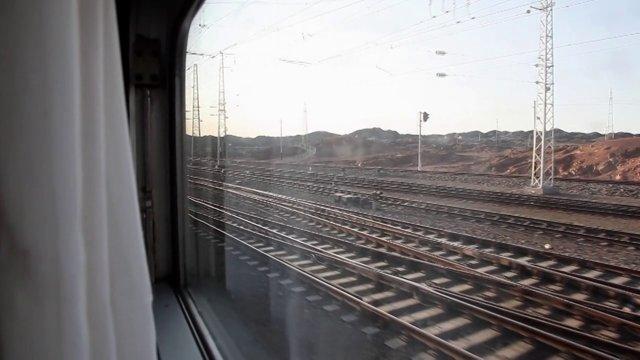 실크로드 기차이동3