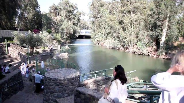 이스라엘, 요단강, 세례터
