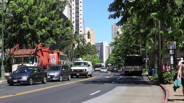 하와이 도로교통 1