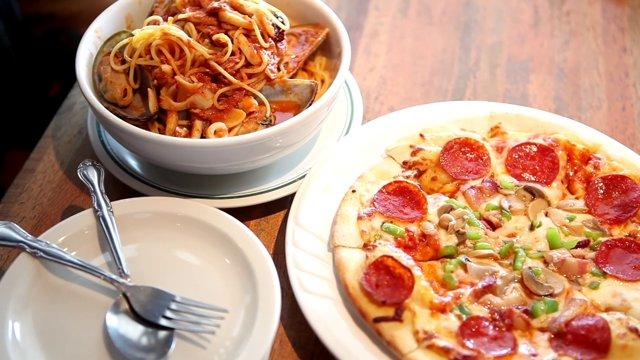 피자와 파스타
