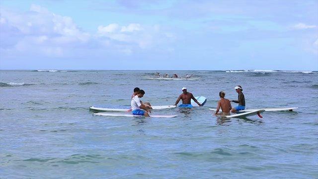 서핑보드 수업